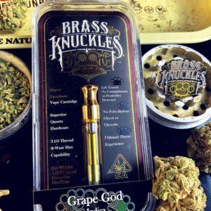 Buy grape God brass knuckles vape carts for sale online