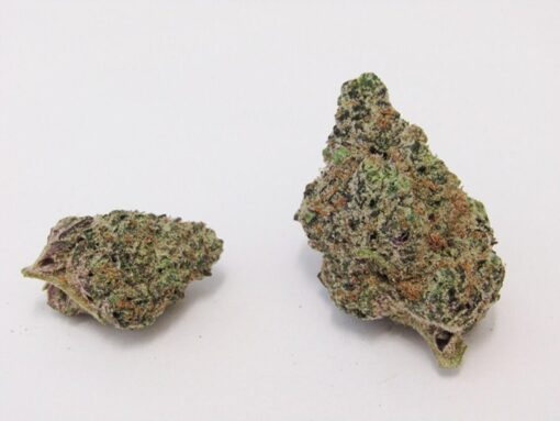 Wedding Cake is a uplifting indica-dominant hybrid strain known for its relaxing and euphoric effects. Wedding cake is rich and tangy with earthy and peppery flavors. According to breeder Seed Junky Genetics, Wedding Cake, also known as Pink Cookies, is a phenotype of Triangle Mints. This delectable treat of a strain should be enjoyed with a double dose of care due to its extremely high THC content.
